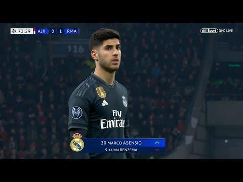 Marco Asensio vs Ajax Away (13/02/2019) HD 1080i by Asensio20™ Mp3