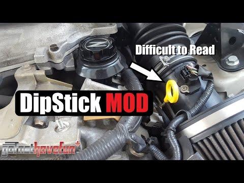 Dipstick MOD / Dipstick hard to read (G35/ 350Z)