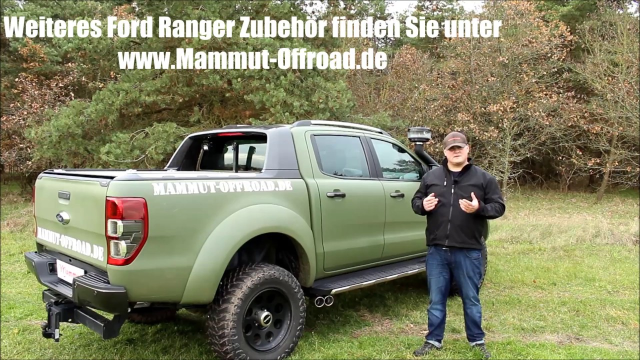 ford ranger 2016 sportauspuff sidepipes tuning von. Black Bedroom Furniture Sets. Home Design Ideas
