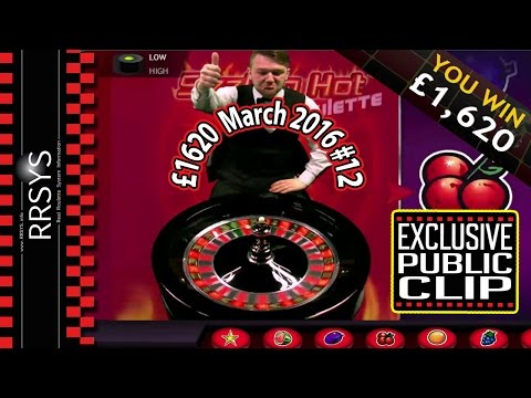 ▀ Epic Dealer Reaction Casino Roulette Win - 7/3/2016 (Clip