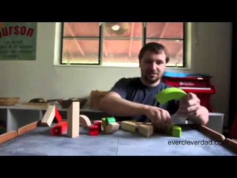 Toy Review: Plan Toys Twisted Blocks Set