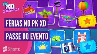 Como Evoluir o Passe do Evento na Atualização de Férias do PK XD #Shorts