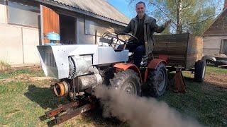 Обзор Чешского мини-трактора и другие истории...