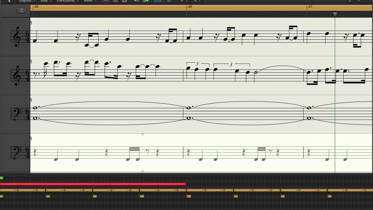 Tantrum Barb (ODDSAC) - Music Score