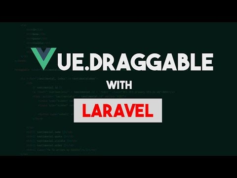 Vue Draggable with Laravel - Example 1