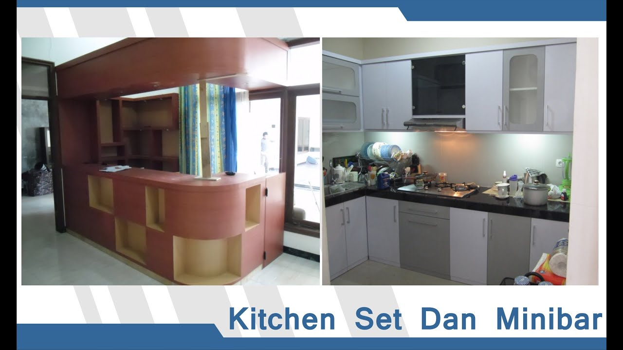 Kitchen Set Minibar Semarang Furnitur Dapur Furniture
