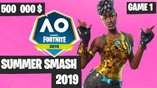 Fortnite Summer Smash Game 1 Highlights - Fortnite Australian Open [Fortnite Tournament 2019]