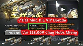 CF Mobile   Đặt Mua Trực Tiếp D.E VIP Dorado Với 328¥ Súng Hịn Có Khác   Tường Trần CFM