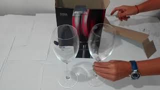 Бокалы для вина Bohemia Grandioso 450 мл  - видеообзор