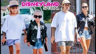 Meeting Up with Mini Justin Bieber & Hailey Baldwin AT DISNEYLAND!!!