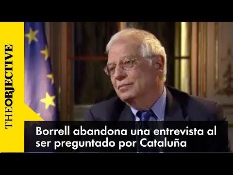 Borrell se indigna y ordena detener una entrevista en una televisión alemana