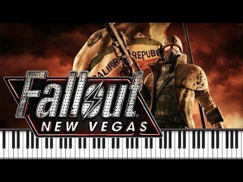 Synthesia [Piano Tutorial] Fallout New Vegas - Main Theme