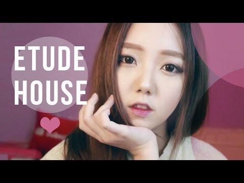 ONE BRAND MAKEUP [ETUDE HOUSE] - Cranberry Makeup Tutorial