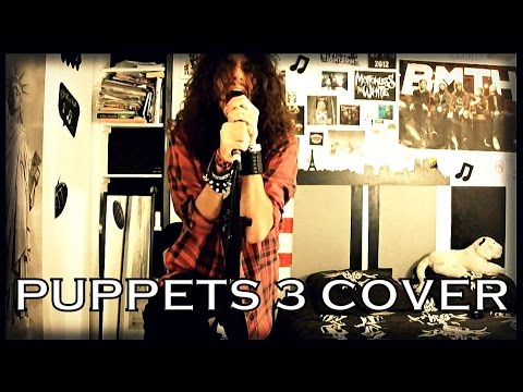 Motionless In White (Ft.Dani Filth) - Puppets 3 (Dual Vocal Cover Ft. JJ Jacobs !)