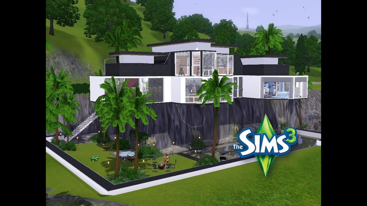 Sims 3 haus bauen let 39 s build moderne architektur for Haus bauen moderne architektur
