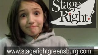 Preteen Acting Class: TV Commercial Demos -- Stage Right Greensburg