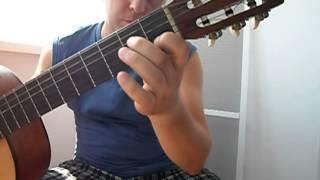 Уроки гитары.Очень красивая испанская музыка.Фламенко