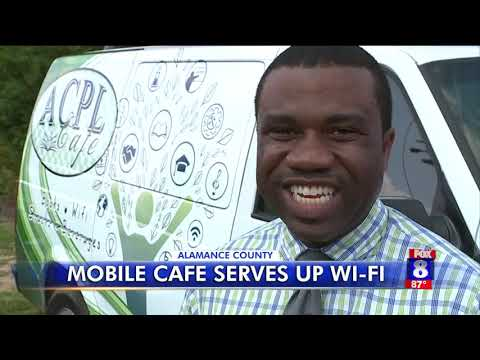Mobile library serves up wifi in Alamance County
