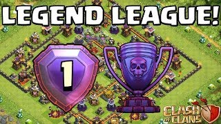 Clash of Clans | Th12 Max Electro Dragon and Legend League Attacks | COC #8