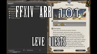 FFXIV ARR 101 Episode 29: Leves Tutorial