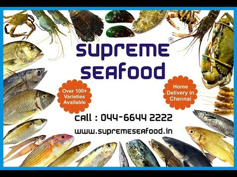 Fish Names In English & Tamil | 28 Varieities | Supreme Seafood