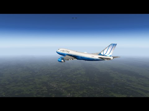 X-Plane 10: Flying a 747 New York to Cleveland, Ohio