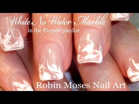 Clear Nail Polish Water Marble To Bend Light