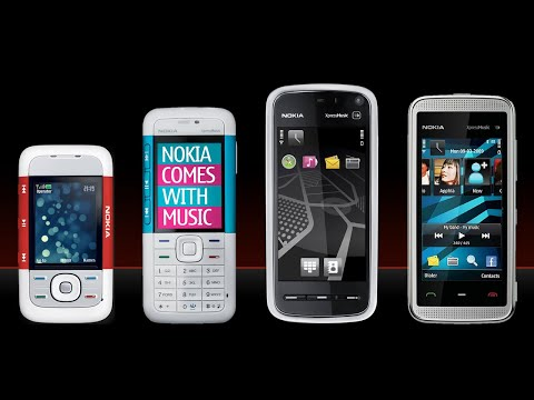 Evolution Of Nokia XpressMusic Phones (2006 - 2009)