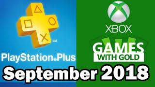 PS4 and XBOX ONE Free Games September 2018 HD