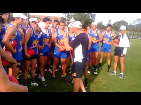 2016 U18 Jumper Presentation Clip – Preseason Wrap