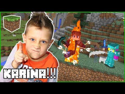 Karina!!!  /  Minecraft Challenge Games