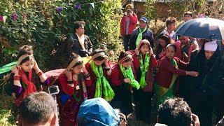 New Nepali Panchebaja 2074||लम्जुंग र तनहु तिरको पन्चेबाजा मा बिहेको भिडियो||