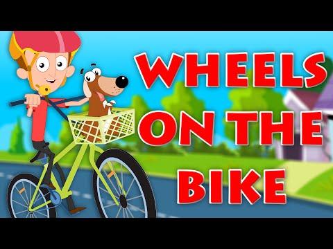 Wheels On The Bicycle | Original Nursery Rhymes | Baby Songs | Kids Videos | kids tv