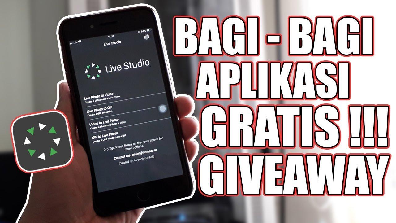 Cara Buat Video Jadi Wallpaper Di Iphone Giveaway Aplikasi Youtube
