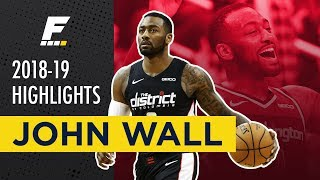 2018-19 NBA Highlights: John Wall