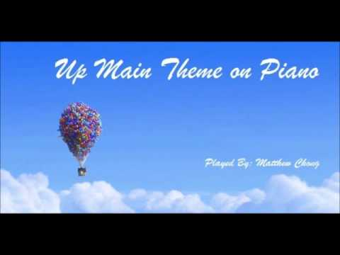Pixar's 'Up' Main Theme on Piano