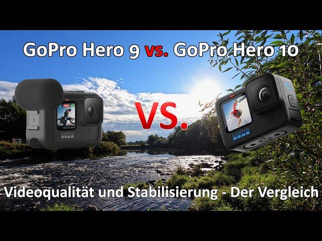 GoPro 9 vs. GoPro 10 - Der Vergleich - Videoqualität - Stabilisierung und Audio - Ein kleiner Test