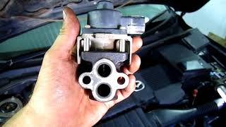 Mazda 3 (axela) ошибка (0401) Клапан рециркуляции отработанных газов