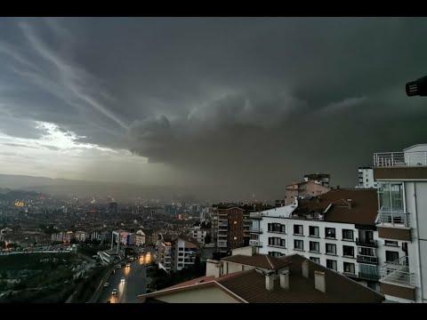 #Ankara 'da yogun #Yagmur başladı l #yağmur #Sondakika #Sondurum