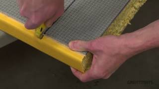 Vinyl Wrapped Martial Arts Mat Cutting Tutorial - Extended Version