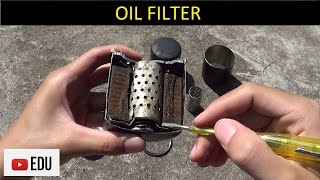 Komponen, Fungsi, dan Cara Kerja Saringan Oli (Oil Filter)