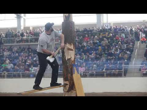 Lumberjacks at the 2019 Pennsylvania Farm Show