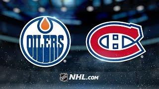Canadiens end four-game losing streak, defeat Oilers