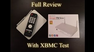 Satechi Smart TV Box - FULL REVIEW WITH XBMC TEST