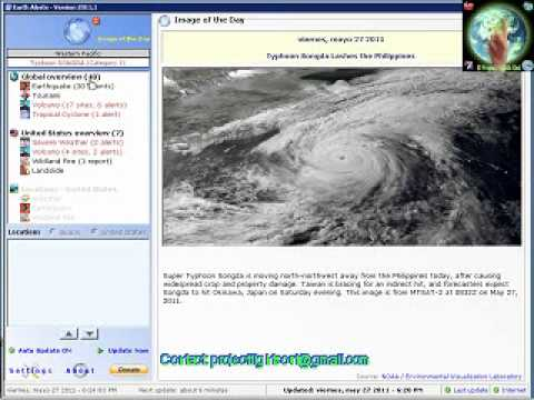Earth Alerts - 27.05.11 (Typhoon Songda)