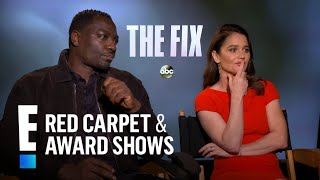 Robin Tunney amp Adewale Akinnuoye-Agbaje Talk quotThe Fixquot  E Red Carpet amp Award Shows