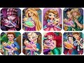 Baby Feeding Games: Ariel, Elsa, Anna, Belle, Rapunzel, Snow White, Draculaura and Sofia The First