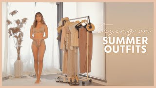 TRYING ON SUMMER OUTFITS | 5 outfit ideas for summer