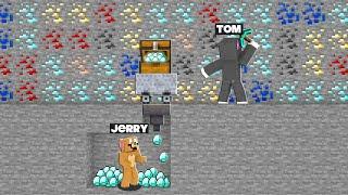 JERRY STOLE TOM DIAMONDS   MINECRAFT