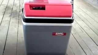 Автомобильный холодильник EZETIL E28.Краткий обзор.